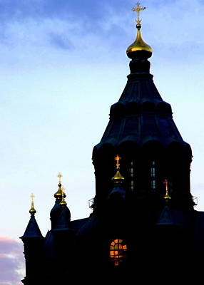Golden Spires Art Print by Lee Versluis