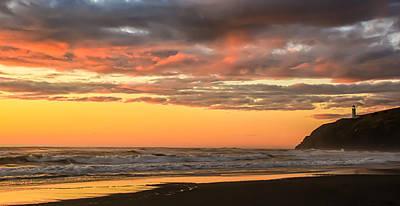 Golden Sunset Art Print by Robert Bales