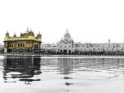 Water Droplets Sharon Johnstone - Golden temple india by Sumit Mehndiratta