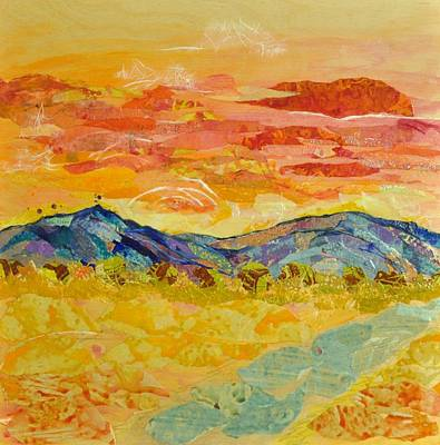 Golden Valley Art Print