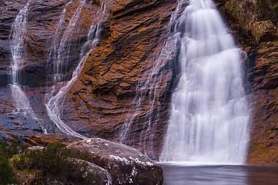 Maciej B. Markiewicz Photograph - Golden Waterfall by Maciej Markiewicz