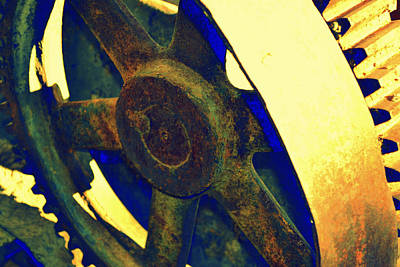 Photograph - Golden Wheel by Diane montana Jansson