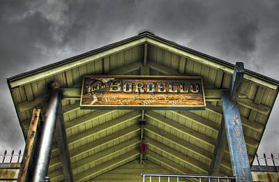 Bordello Photograph - Goldfield Ghost Town - Lu Lu's Bordello  by Saija  Lehtonen
