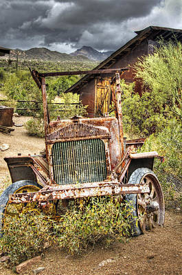 Photograph - Goldfield Ghost Town - Precious Metal  by Saija  Lehtonen