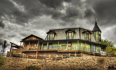 Bordello Photograph - Goldfield Ghost Town  by Saija  Lehtonen