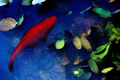 Goldfish Digital Art - Goldfish by Ron Jones