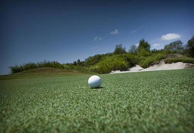 Golf 1 Art Print by Al Hurley