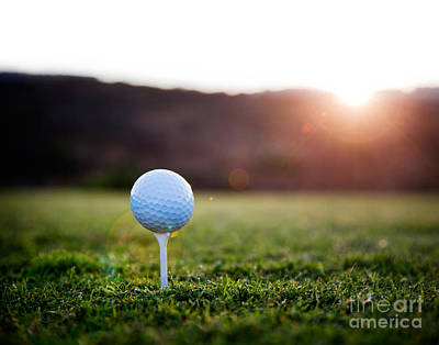 Photograph - Golf Ball by Kati Molin