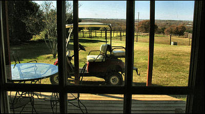 Photograph - Golf Cart 2009 by Glenn Bautista