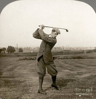 Photograph - Golf: George Duncan, 1920s by Granger