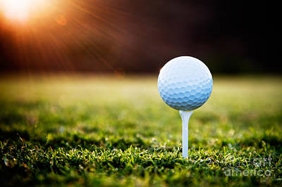 Sports Royalty-Free and Rights-Managed Images - Golf by Kati Finell