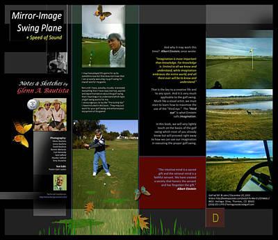 Digital Art - Golf Notes Sketches By Glenn D by Glenn Bautista