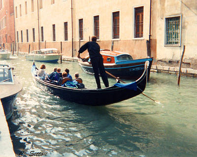 Photograph - Gondola by C Sitton