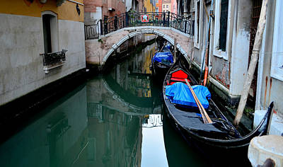 Photograph - Gondola In Venice by Barbara Walsh