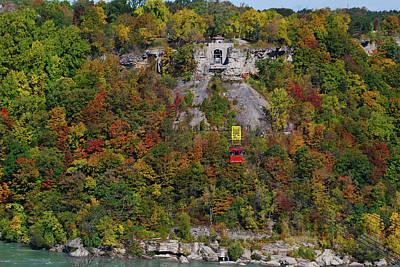 Photograph - Gondola Over The Niagara by Guy Whiteley
