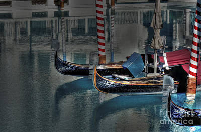 Photograph - Gondolas Of Vegas by David Bearden