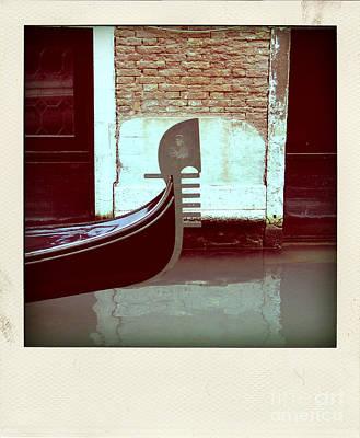 Gondola.venice.italy Art Print by Bernard Jaubert