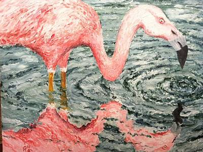 Robert Schmidt Painting - Gone Fishin' by Robert Schmidt