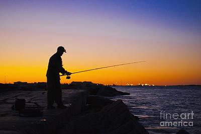 Sunset Photograph - Gone Fishing by Andre Babiak