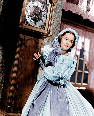 Period Clothing Photograph - Gone With The Wind, Olivia De by Everett