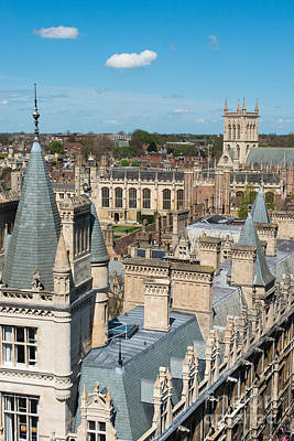 Cambridge Photograph - Gonville And Caius  by Andrew  Michael