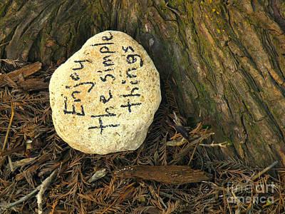 Message Art Photograph - Good Advice by Joe Jake Pratt