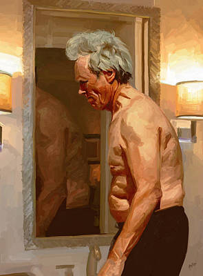 Briex Painting - Good Morning Clint Eastwood by Nop Briex
