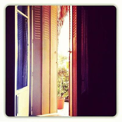 Iphone 4 Photograph - Good Morning Everybody! #morning by Val Lao