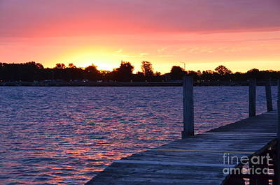 Photograph - Good Morning From Marysville Michigan Usa by Randy J Heath