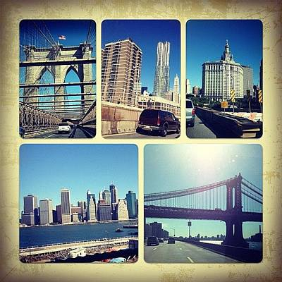 Iphone 4s Photograph - Good Morning New York City by Yiddy W