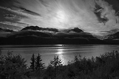 Photograph - Good Night Seward by Wes and Dotty Weber