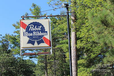 Photograph - Good Ole Pabst by Pamela Walrath