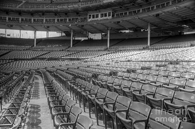 Friendly Confines Photograph - Good Seats At Wrigley by David Bearden