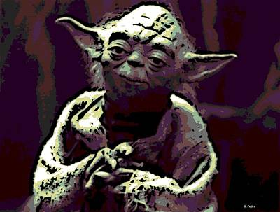 Photograph - Good Yoda by George Pedro