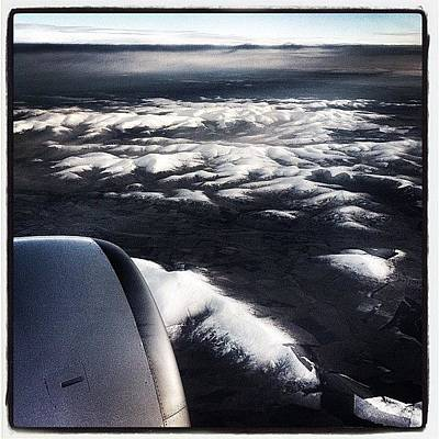 Jet Photograph - Goodbye Scotland #flight #scotland #air by Robert Campbell