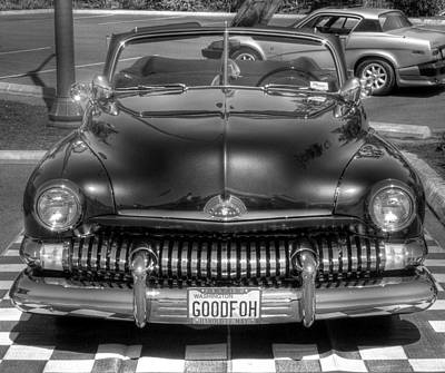 Photograph - Goodfoh In Black And White by Chris Anderson