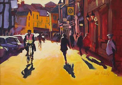 Goodramgate Sunburst Art Print by Neil McBride
