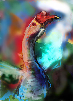 Genus Digital Art - Goose Brand by James Thomas