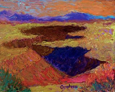 Painting - Gorge 11 by Carolene Of Taos