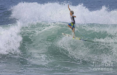 Ponce Photograph - Gorgeous Surf by Deborah Benoit
