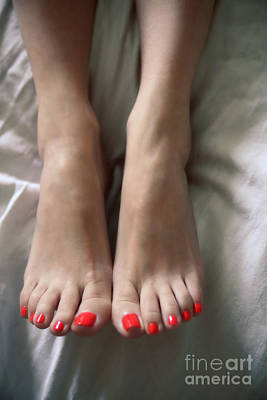 Photograph - Gorgeous Toes by Tos