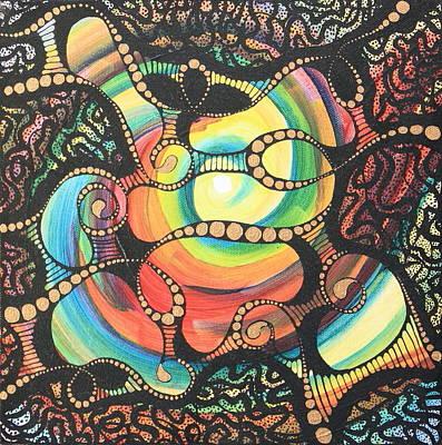 Painting - Gossamer Pangea by Tamra Pfeifle Davisson