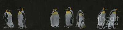 Painting - Gossip by Annemeet Hasidi- van der Leij