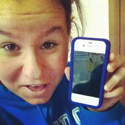 I Phone Photograph - Got Ma Iphone Today. Now Waiting For by Bryanna Farmer