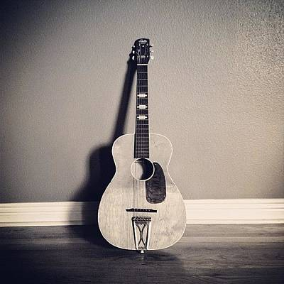 Music Wall Art - Photograph - Got My Daughter Her First Guitar Today by Caleb Kennedy
