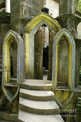 Photograph - Gothic Arches Las Pozas Mexico by John  Mitchell