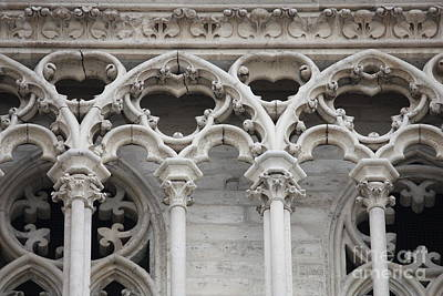 Gothic Design Art Print