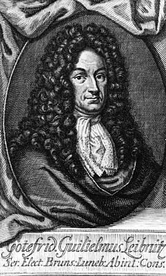 Gottfried Wilhelm Leibniz, German Print by Photo Researchers, Inc.