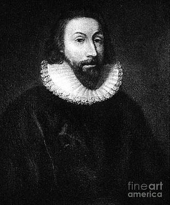 Governer John Winthrop Art Print by Extrospection Art