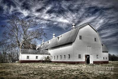 Governor Scott Dairy Farm Art Print